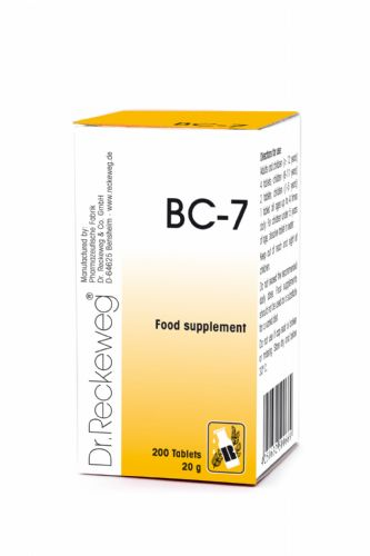 Schuessler BC7 combination cell salt - tissue salt